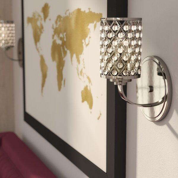 Willa Arlo Interiors Senters 1 Light Wall Sconce Reviews Wayfair