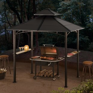 Bellevue 8 Ft. W x 5 Ft. D Steel Grill Gazebo by Sunjoy
