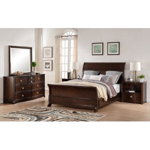 Autenberry King Sleigh 5 Piece Bedroom Set by Bloomsbury Market