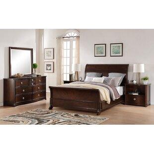Autenberry King Sleigh 5 Piece Bedroom Set by Bloomsbury Market