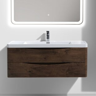 Big Save Ruelas 48 Wall-Mounted Single Bathroom Vanity Set By Wrought Studio