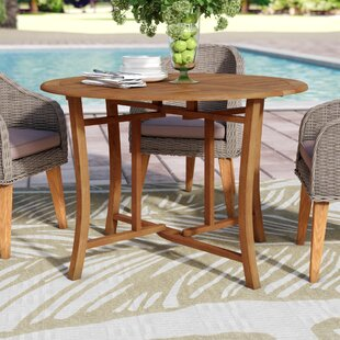 Roseland Folding Wooden Dining Table