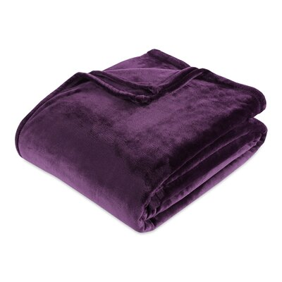 Berkshire Blanket VelvetLoft® Blanket Size: King, Color: Eggplant