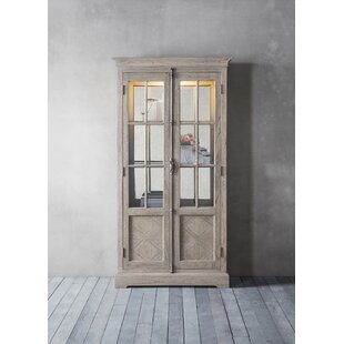 Colella Standard Display Cabinet With Lighting By Fleur De Lis Living