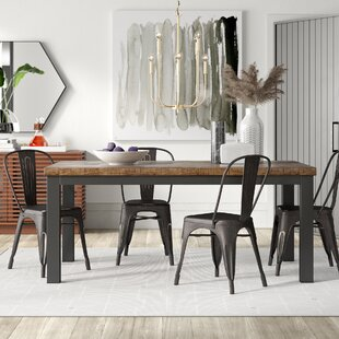 Leo 5 Piece Dining Set by Mercury Row
