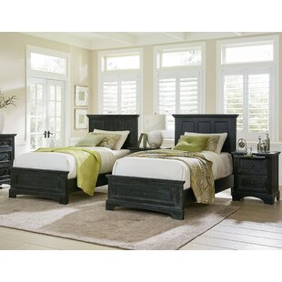 Farmhouse Twin Panel 4 Piece Bedroom Set