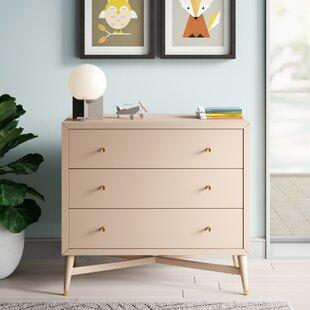 McPartland MidCentury 3 Drawer Dresser by Mack amp Milo