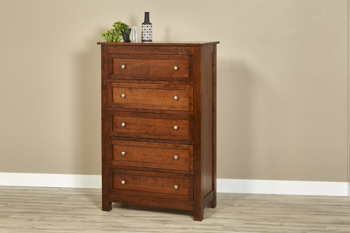 Darby Home Co Buker 5 Drawer Chest