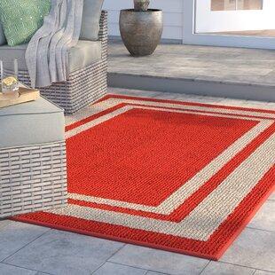 Ackerson Red Indoor/Outdoor Area Rug