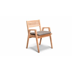 Hoff Stacking Patio Dining Chair with Cushion