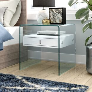 Joaquin 1 Drawer Nightstand by Wade Logan Spacial Price