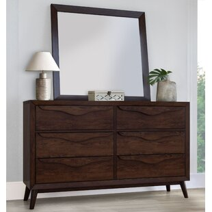 Buntin 6 Drawer Double Dresser by Corrigan Studio