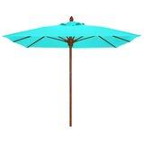 Sanders 6 Manual Lift Square Market Umbrella