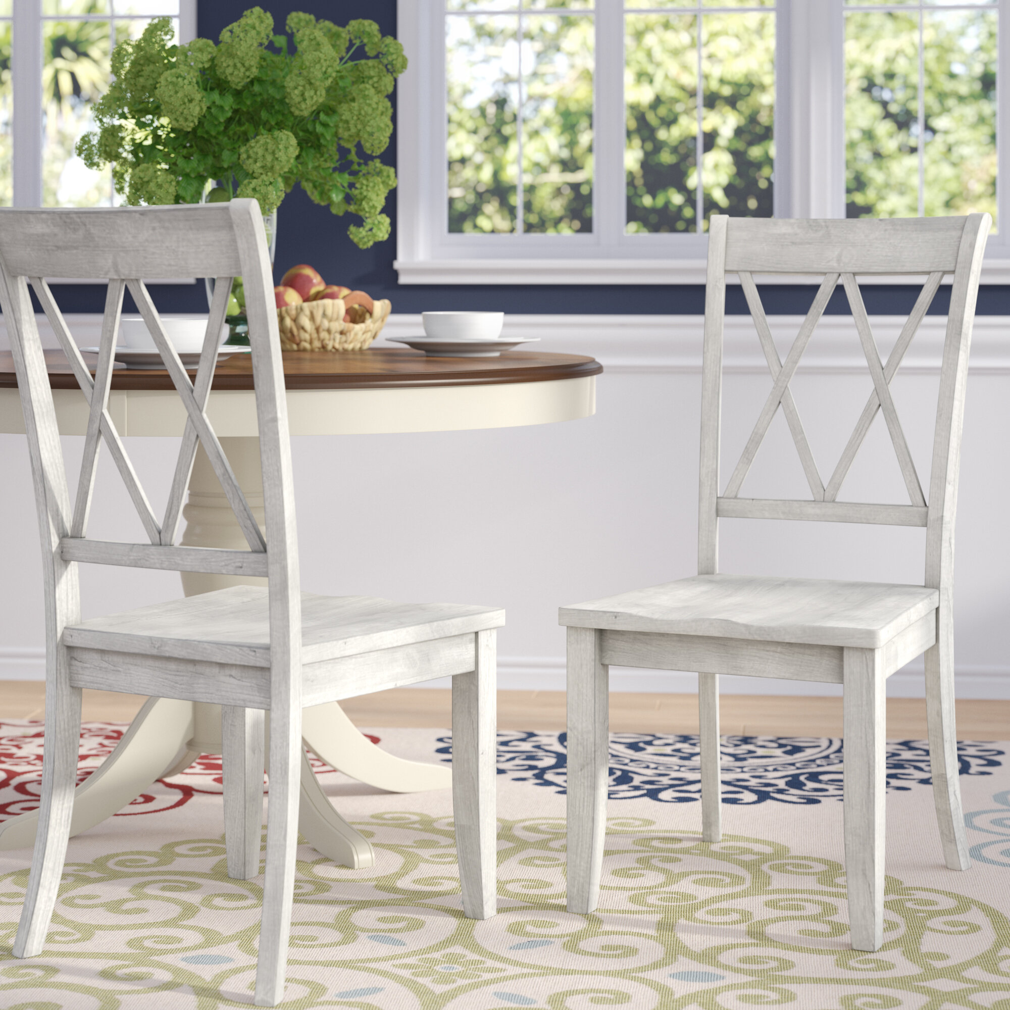 Cottage Country White Kitchen Dining Chairs You Ll Love In 2020 Wayfair