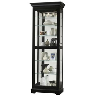 Britten Lighted Curio Cabinet by Darby Home Co
