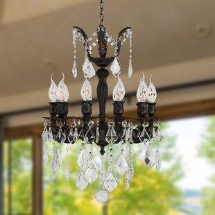 Astoria Grand Dodson 10-Light Chain Candl..