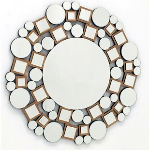 Fab Glass and Mirror The Mosaic Decorative Wall Mirror