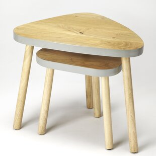 Avi 2 Piece Nest Of Tables By Langely Street