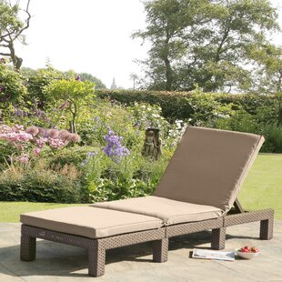 SunTime Outdoor Living Daytona Chaise Lounge with Cushion