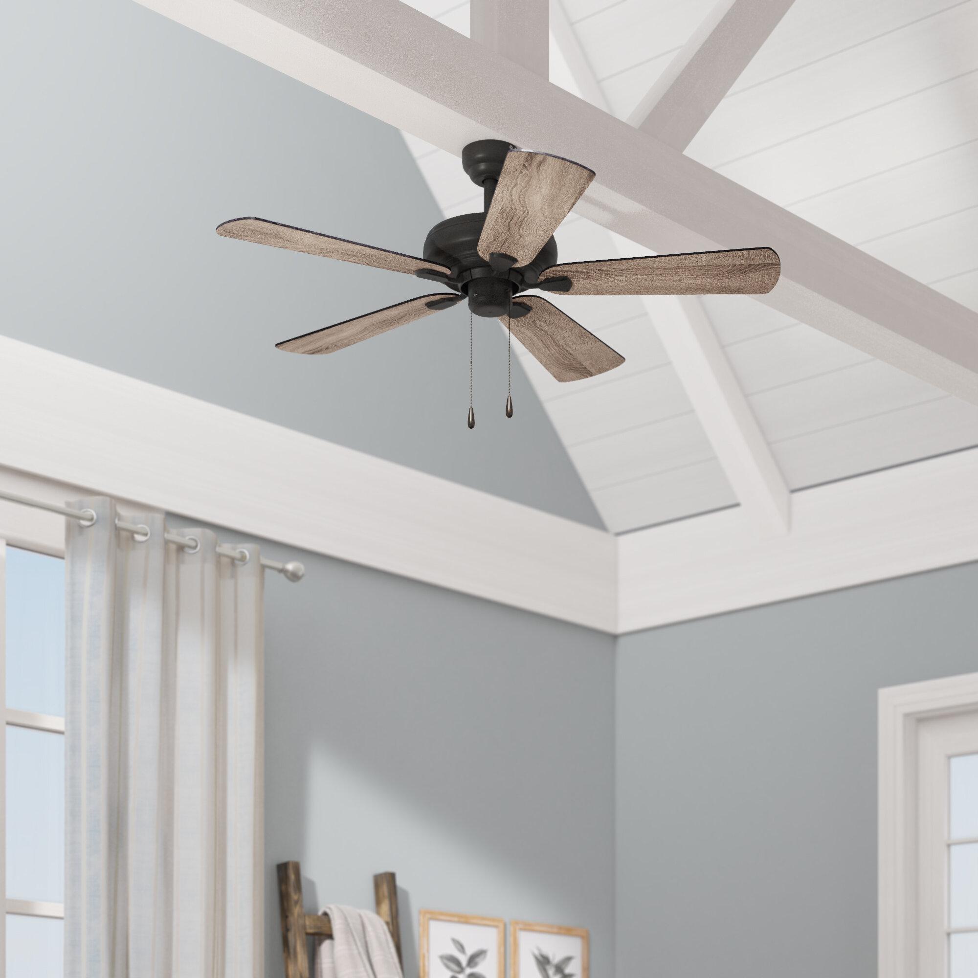 Gracie Oaks 42 Raseborg 5 Blade Standard Ceiling Fan Reviews Wayfair