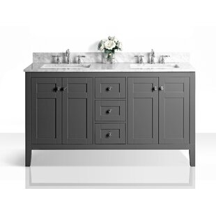 Price comparison Fuller 60 Double Bathroom Vanity Set By House of Hampton