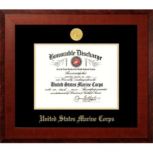 Marine Discharge Honor Picture Frame By Patriot Frames