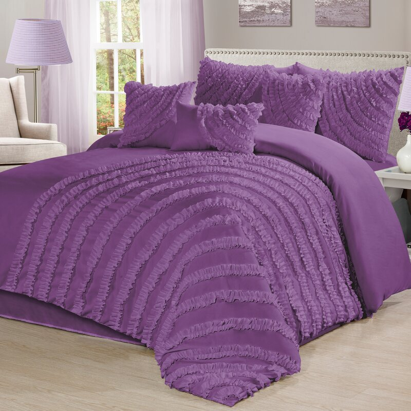 Carrie 7 Piece Comforter Set