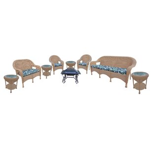 9 Piece Sofa Set With Cushions by Oakland Living Best Choices