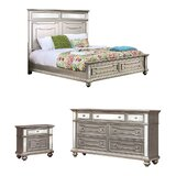 Amberly Standard Configurable Bedroom Set by House of Hampton