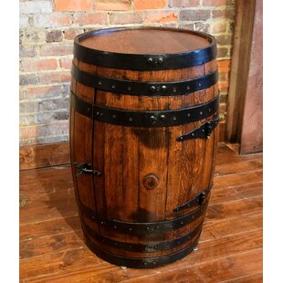 Shooter's Cabinet Barrel Bar 1 Door Accent Cabinet by William Sheppee