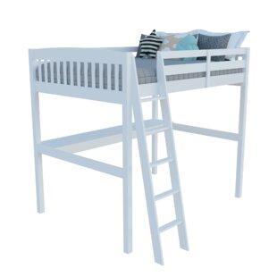 Daylin High Loft Platform Bed with Desk