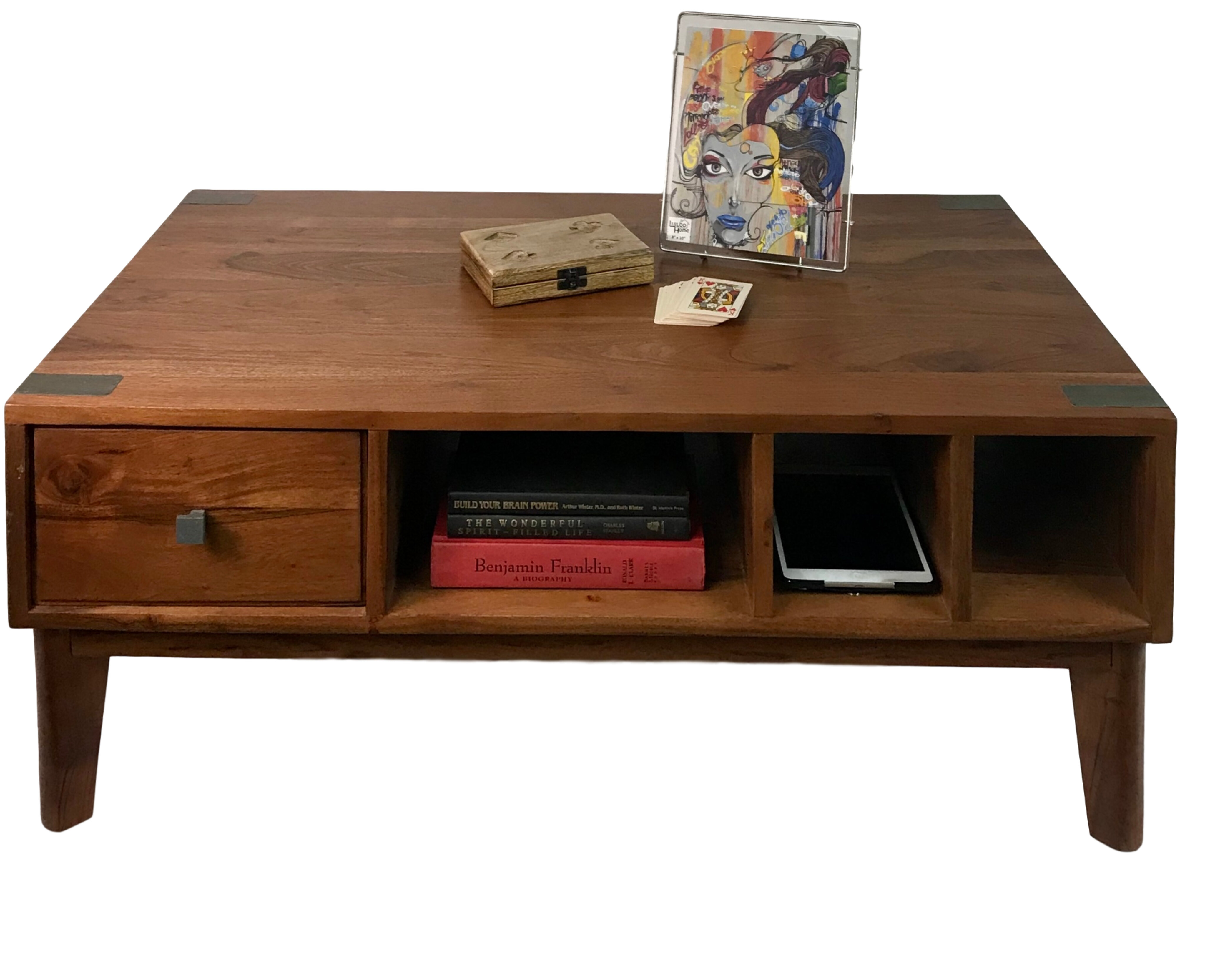 Foundry Select Keytesville Coffee Table With Storage Wayfair