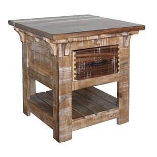 San Angelo 1 Drawer End Table