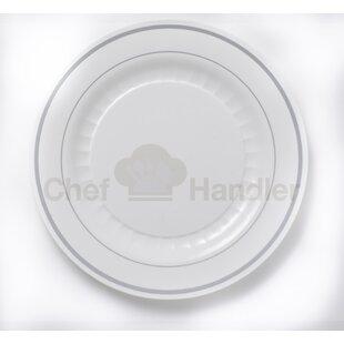 Mystique 100 Guest Bundle Elegant Plastic Plate Set & Elegant Plastic Plates | Wayfair