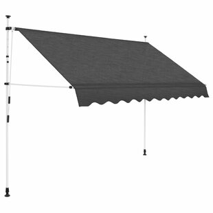 Palma Manual W 2.5 X D 1m Retractable Patio Awning By Sol 72 Outdoor