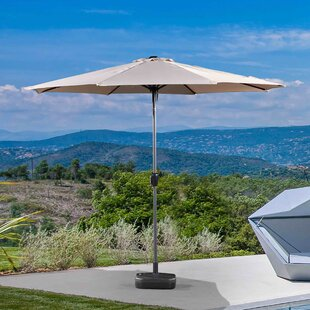 Latitude Run Doric Patio 10' Market Umbrella