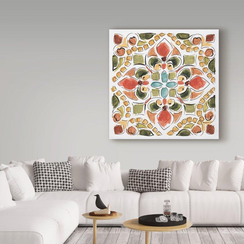 Fleur De Lis Living Tuscan Breeze Vii Wrapped Canvas Graphic Art Print Wayfair