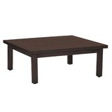 Club Aluminum Square Coffee Table