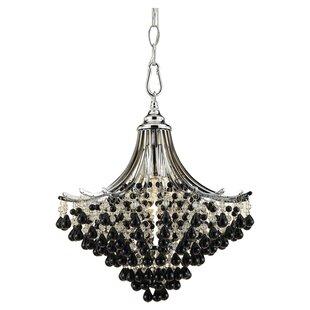 AF Lighting Spellbound 1-Light Crystal Pendant