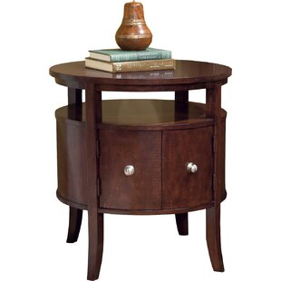 End Table with Storage by Fairfield Chair
