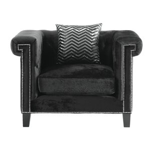 Grosvenor Chesterfield Chair by Willa Arlo Interiors