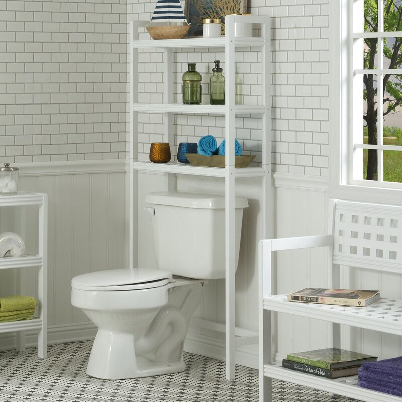 Default nameNew Ridge Home Goods Beaumont Space Saver 28 25  W x 60  H Over  . Space Saver Toilet Dimensions. Home Design Ideas