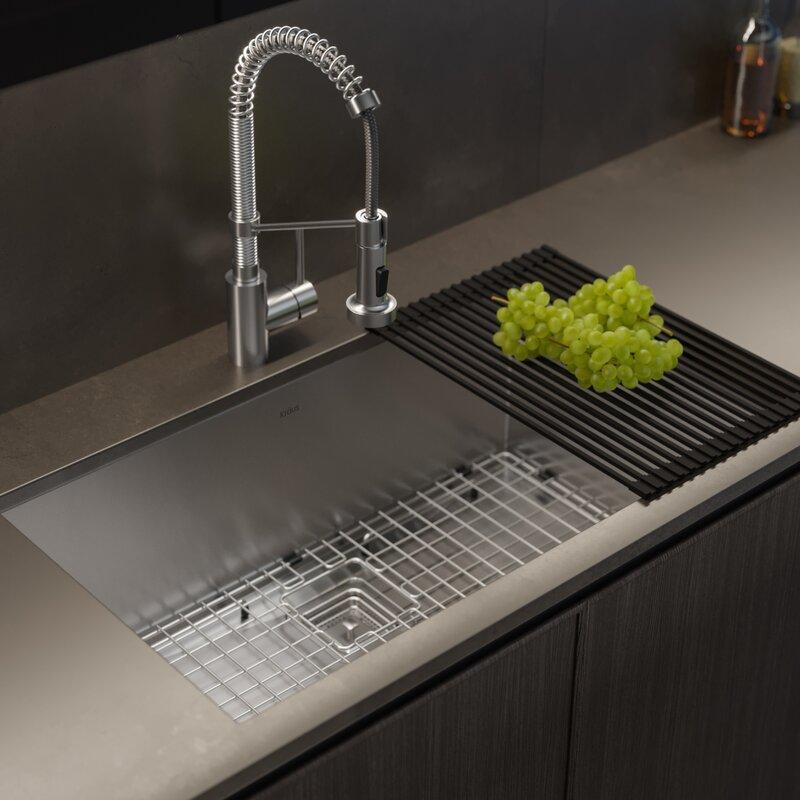 Undermount Kitchen Sink With Drain