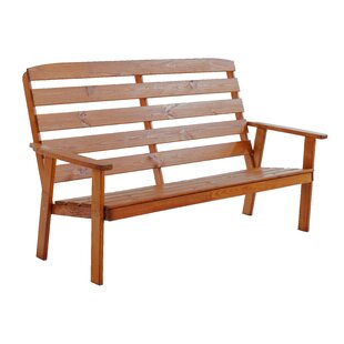 Youngs Wooden Bench By Sol 72 Outdoor