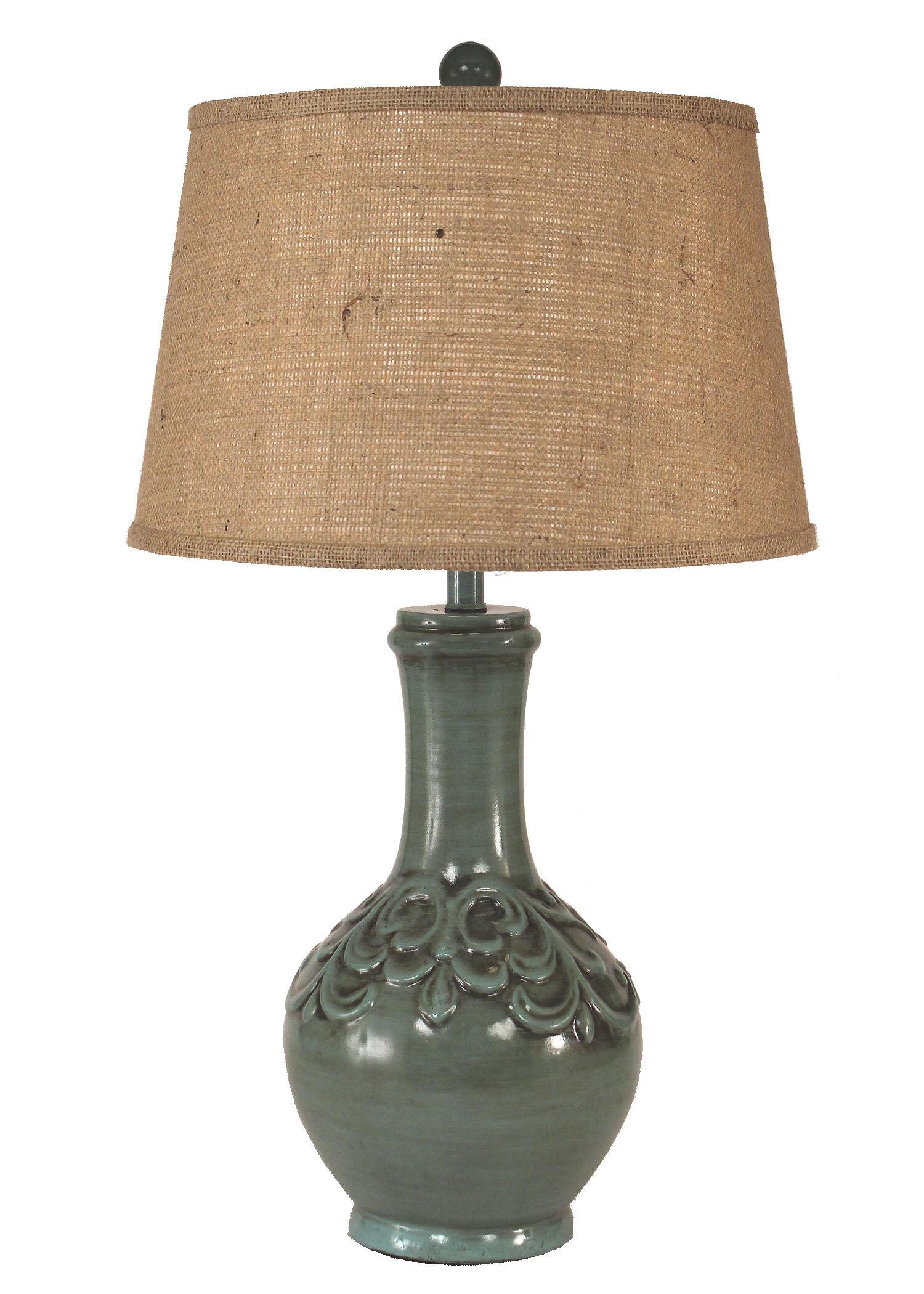 Cardone Fleur De Lis 30 Table Lamp
