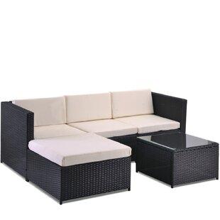 Froholdt 4 Seater Rattan Sofa Set Image