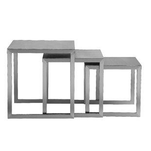 Orren Ellis Glenmore 3 Piece Nesting Tables