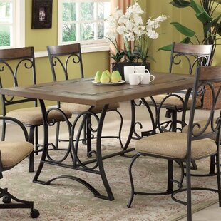 Omaha 5 Piece Dining Set by Fleur De Lis Living No Copoun