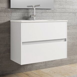 Insta 80cm Vanity Basin Unit By Ebern Designs