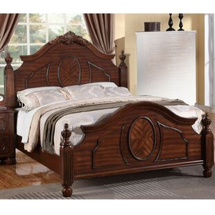 Astoria Grand Vadnais Intricately Wooden Panel Bed